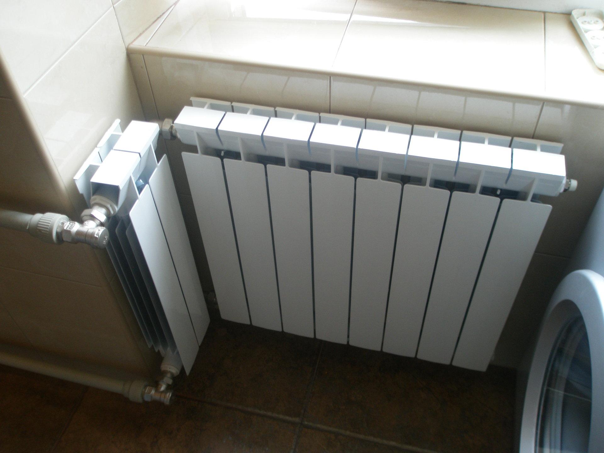 Установка и замена радиаторов и батарей отопления.