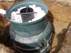 Автономна каналізація, Очисні споруди для пиватних будинків