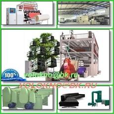 синтепон мини-завод 150-400кг/час