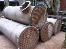 Куплю теплообменники б/у трубчатые, стальные