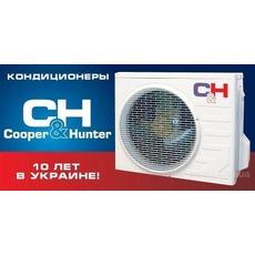 """Кондиционеры: Официальный представитель """"Cooper&Hunter""""."""