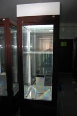 Холодильная витрина шкаф прозрачный б/у.