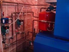 Монтаж отопления, водоснабжения и канализации в домах и квар