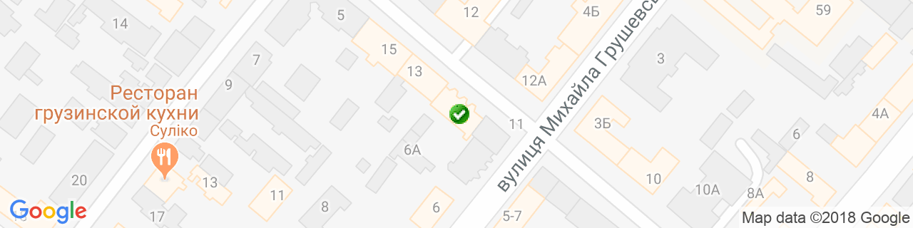 Карта объектов компании Димарi