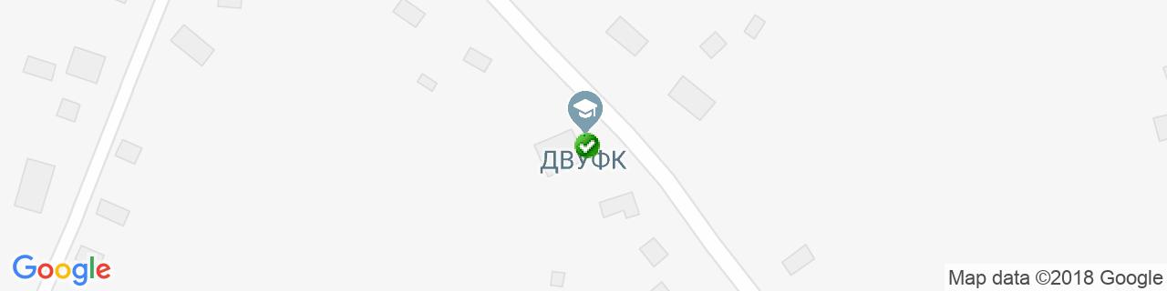 Карта объектов компании Эколайн