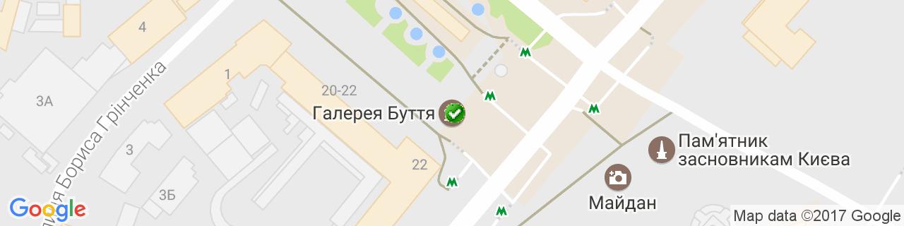 Карта объектов компании БФ Завод
