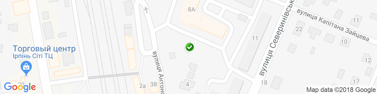 Карта объектов компании ЭнергоИнком