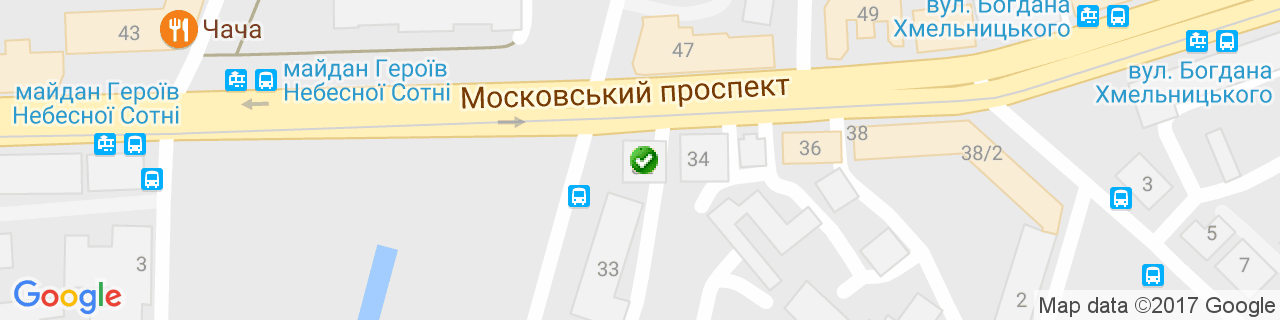 Карта объектов компании Компания Холод