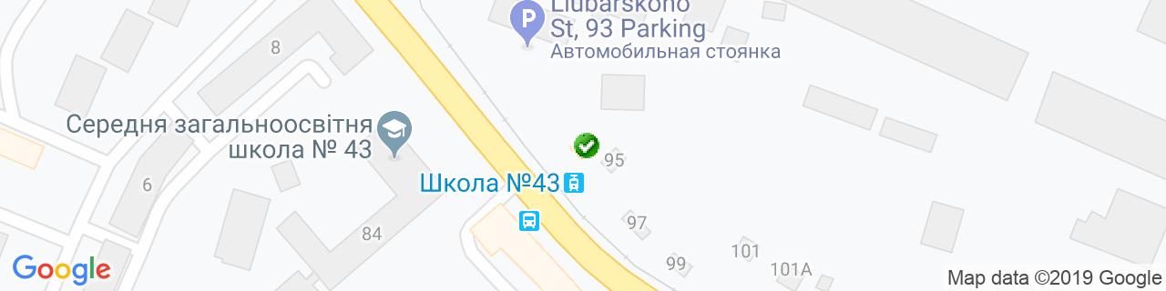 Карта объектов компании Мацай