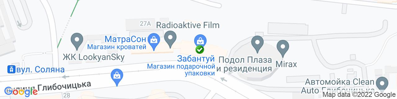 Карта объектов компании Торговый Дом «СКБ Технофильтр»