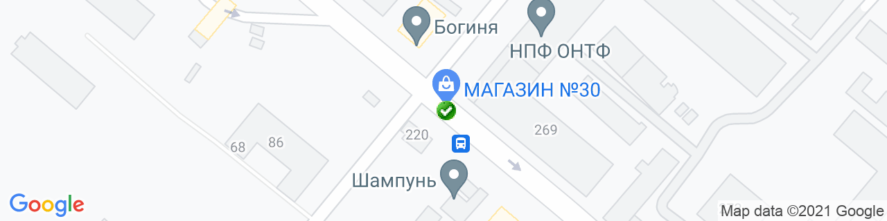 Карта об'єктів компанії ТЕПЛОДІМ