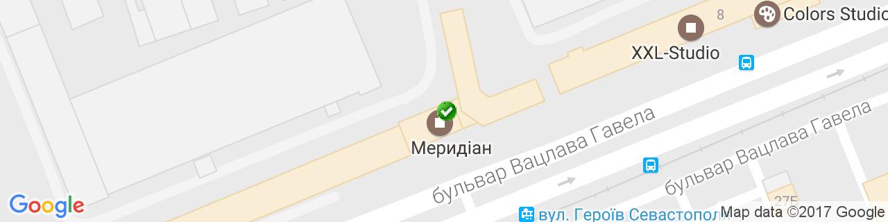 Карта объектов компании Теплотема