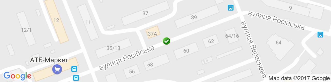 Карта объектов компании Укрпромарматура