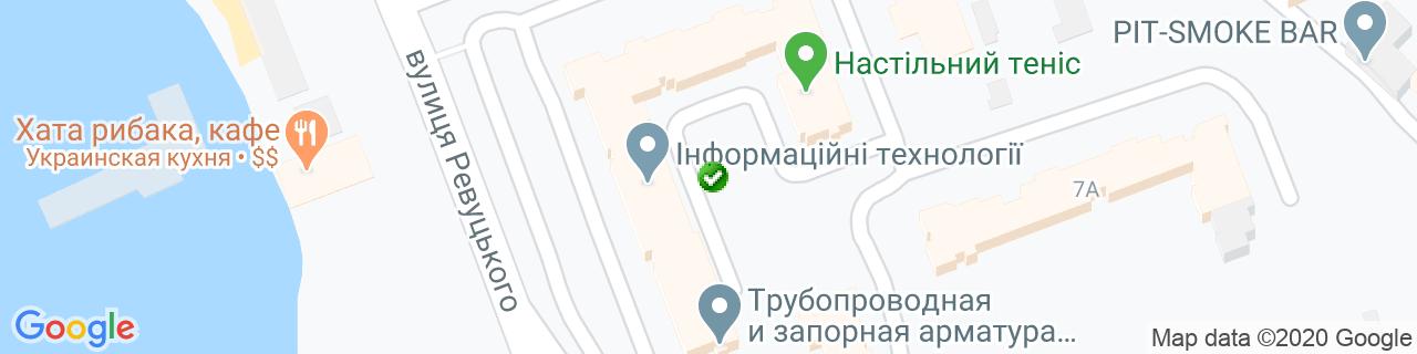 Карта объектов компании УКСПАР