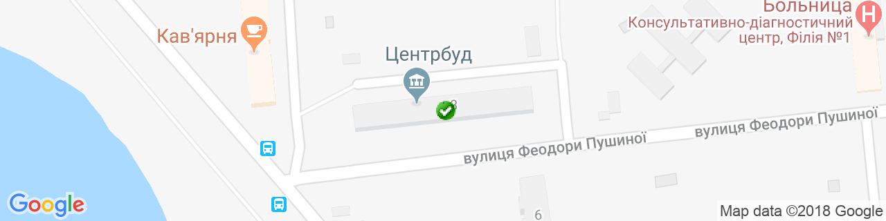 Карта объектов компании ВКС