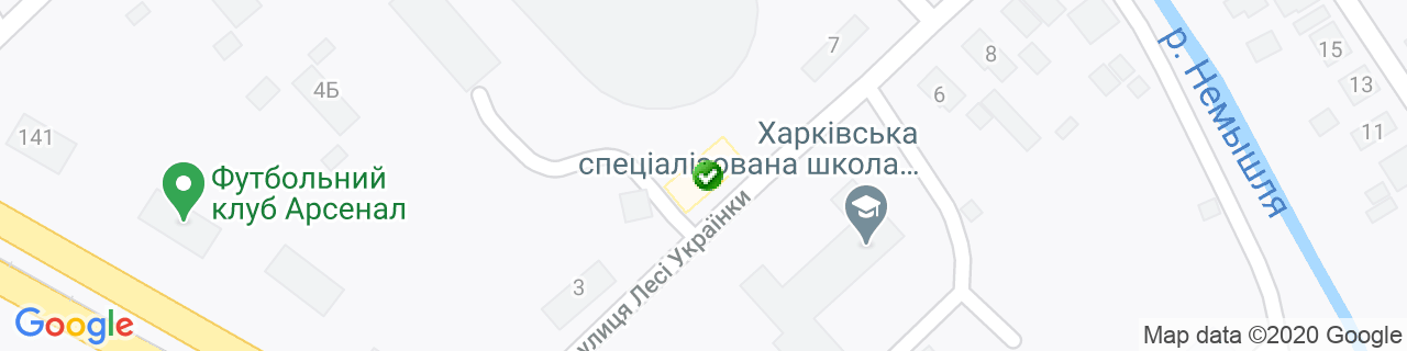 Карта объектов компании Современный дом
